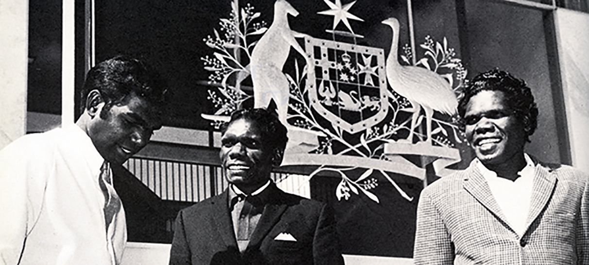 1971 High Court case which recognised Aboriginal law