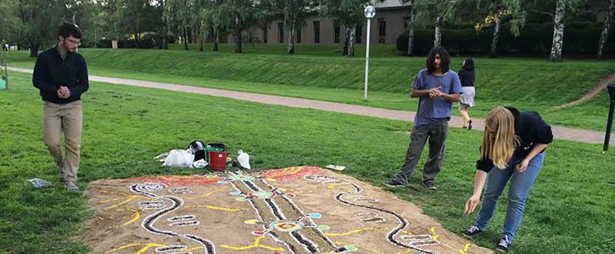 ground painting
