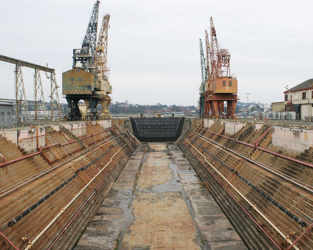 Submarine dry dock