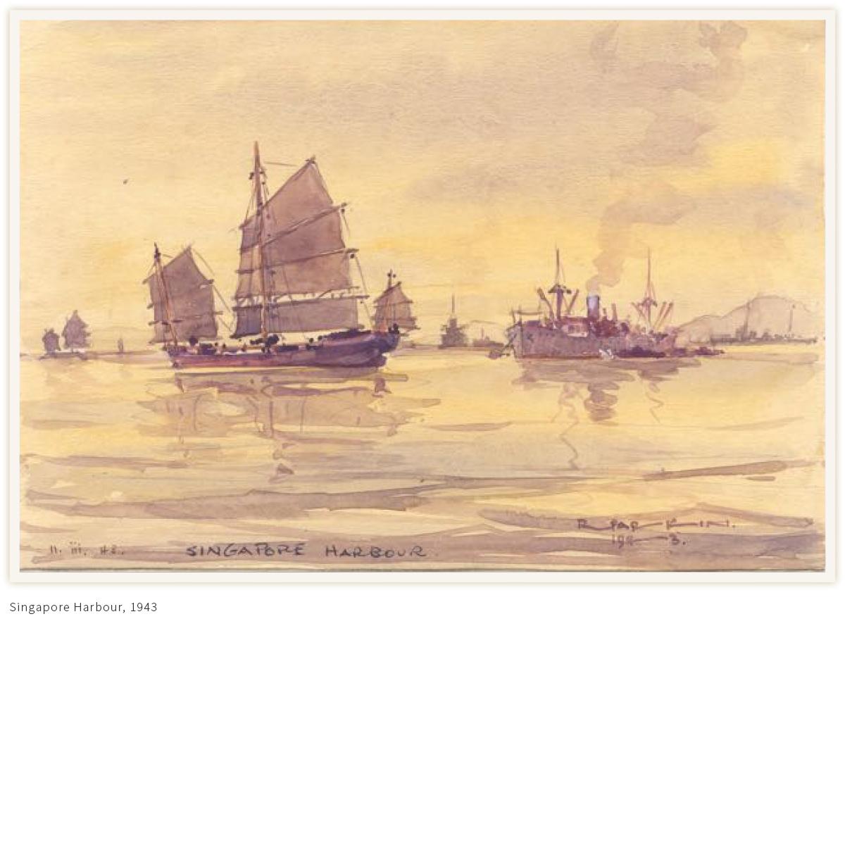 Singapore-harbour